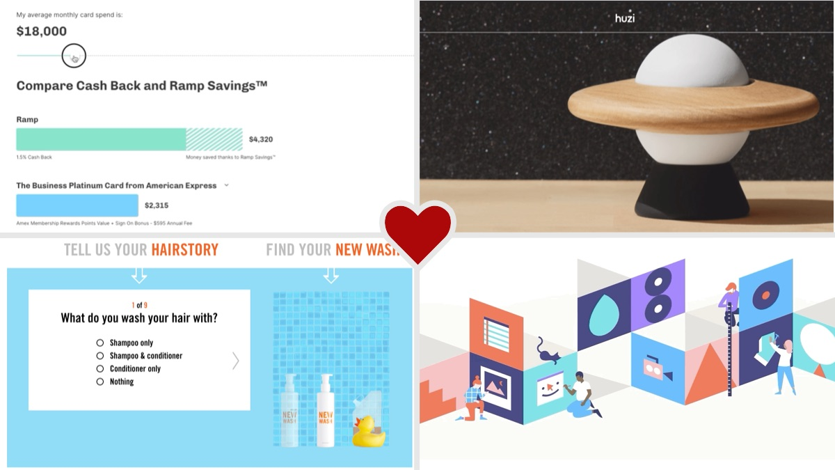 April web design features